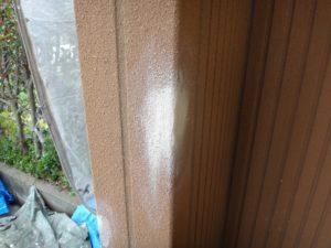 坂戸市屋根外壁塗装工事施工例欠損部補修