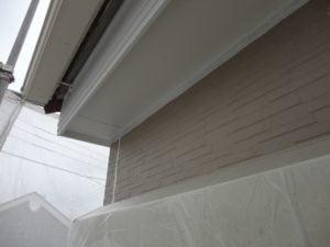 川越市屋根外壁塗装工事施工例