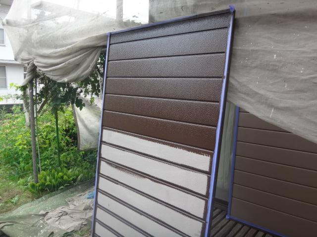 鶴ヶ島市外壁塗装施工例
