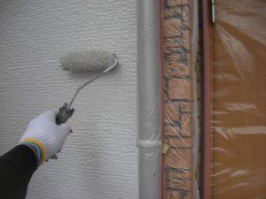 坂戸市屋根外壁塗装施工例