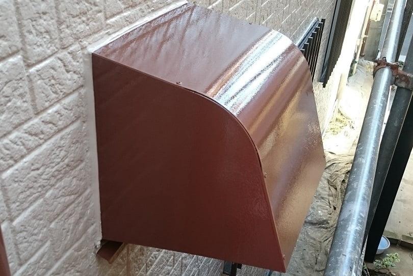 川越市屋根外壁塗装施工例